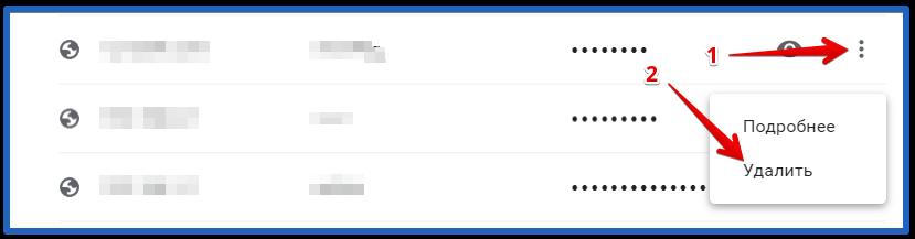 как удалить пароли в браузере гугл хром